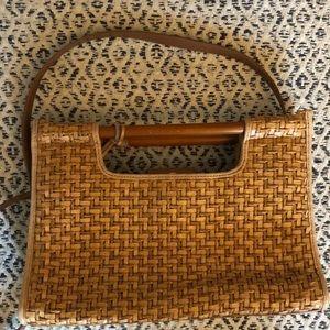 Fossil wicker purse